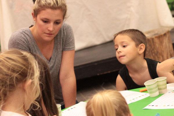 Kindergarten through fourth grade