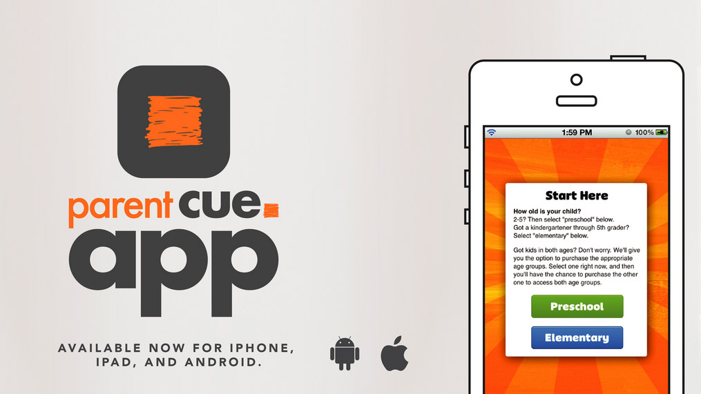 parent cue app banner